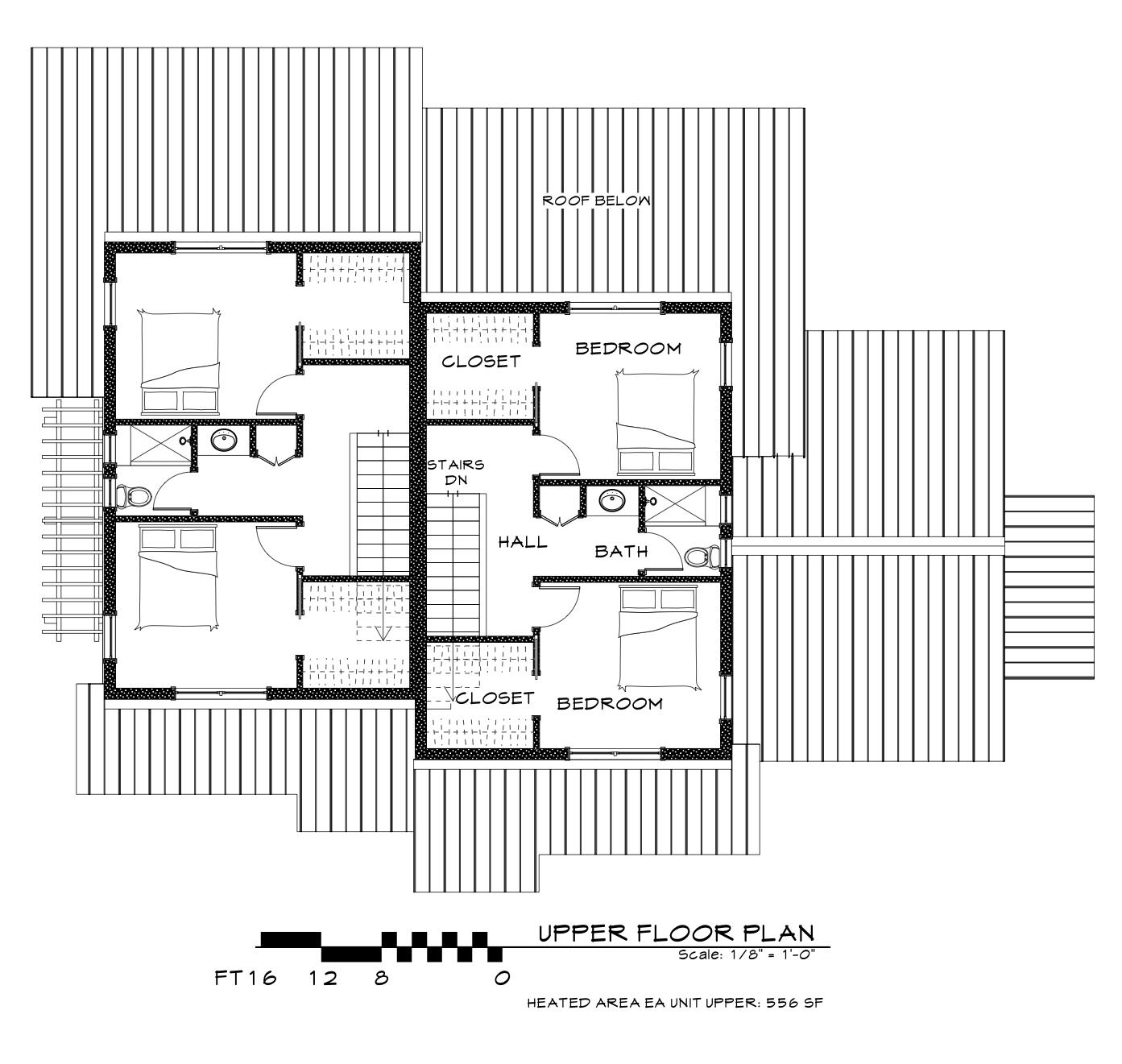 2 Story - Upper Floor
