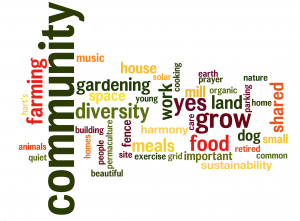 Wordle from questionnaire