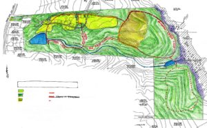 Hart's Mill trail map